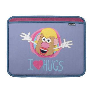 Señora Potato Head - abrazos del amor de I Funda Para Macbook Air