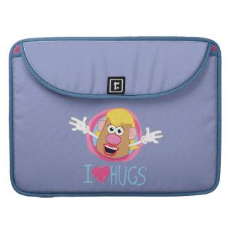 Señora Potato Head - abrazos del amor de I Funda Macbook Pro