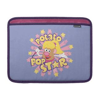 Señora Potato Head - estrella del pop Funda MacBook