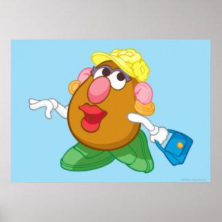 Señora Potato Head Poster