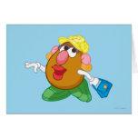 Señora Potato Head Tarjeta De Felicitación