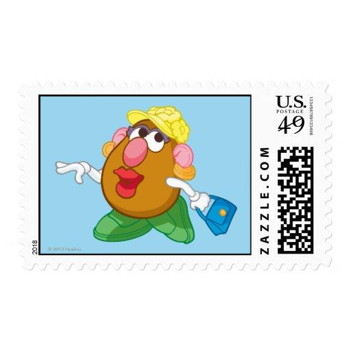 Señora Potato Head Timbres Postales