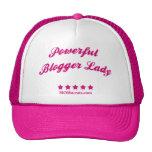 Señora potente Hat del Blogger Gorros Bordados
