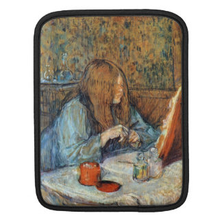 Señora Poupoule en el retrete por Toulouse-Lautrec Mangas De iPad