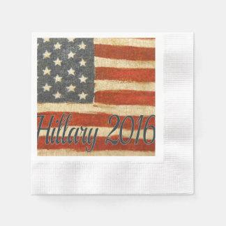 Señora presidente 2016 de Hillary Servilletas Desechables