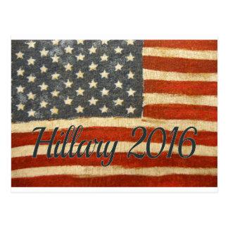 Señora presidente 2016 de Hillary Tarjeta Postal
