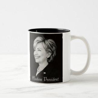 Señora presidente taza de Hillary