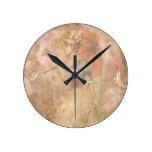 Señora Print Clock del Victorian del vintage Reloj Redondo Mediano
