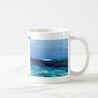 Señora productos del arte del mar - océano de Cric Taza De Café