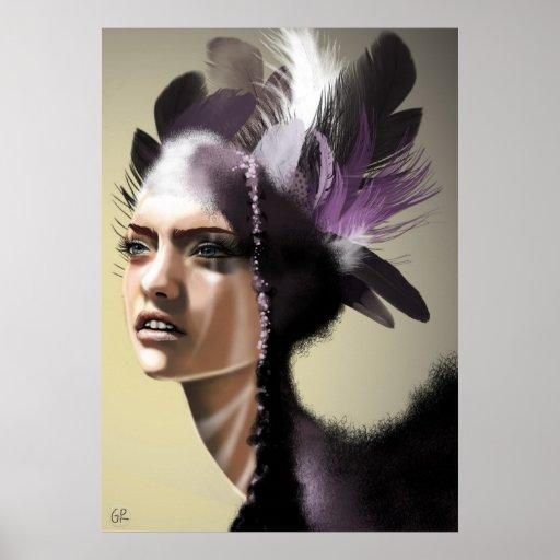 Señora Purple Impresiones