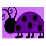 Señora púrpura Bug Postal