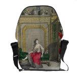 Señora que desnuda para el baño, c.1688-90 publica bolsa messenger