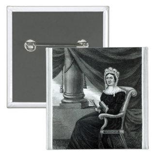 Señora Raquel Jackson Pin Cuadrado