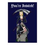 Señora Reaper 2 Invitación 12,7 X 17,8 Cm