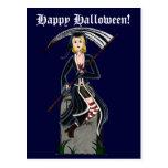 Señora Reaper 2 Tarjetas Postales