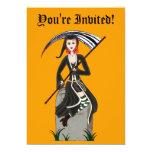 Señora Reaper Invitación 12,7 X 17,8 Cm