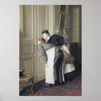 Señora Recoit, 1908 Póster
