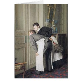 Señora Recoit, 1908 Felicitacion