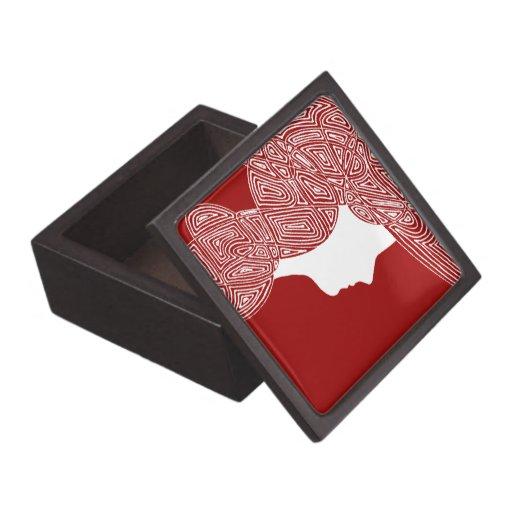 Señora Red Cajas De Joyas De Calidad