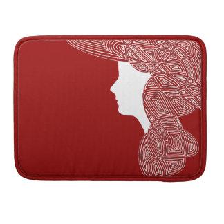 Señora Red Funda Para Macbook Pro