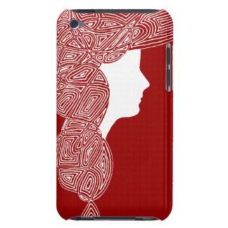Señora Red iPod Touch Carcasas