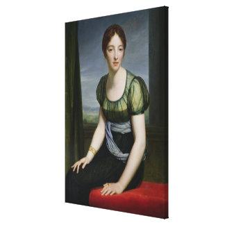 Señora Regnault de Santo-Jean d'Angely Lona Envuelta Para Galerías