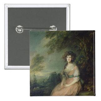 Señora Richard Brinsley Sheridan, c.1785-87 Pins
