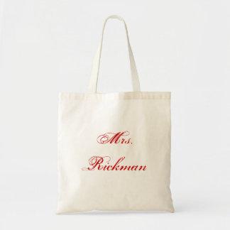 Señora Rickman Bolsa Tela Barata