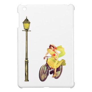 señora Riding Bike de los años 20