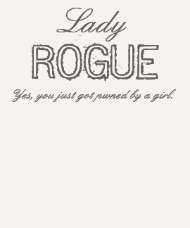 Señora ROGUE Camiseta