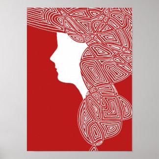 Señora roja póster
