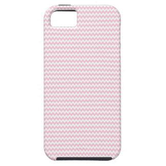 Señora rosada colección - rayas horizontales iPhone 5 cárcasas