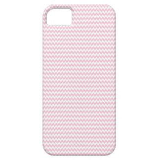 Señora rosada colección - rayas horizontales iPhone 5 Case-Mate protectores