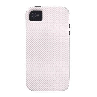 Señora rosada colección - rosa clara iPhone 4/4S carcasa