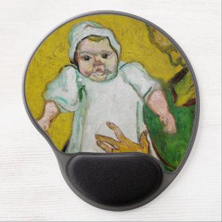 Señora Roulin con el bebé de Vincent van Gogh Alfombrillas De Ratón Con Gel