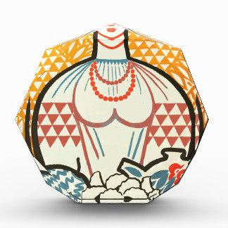 señora rusian del arte del sssr del cccp en el