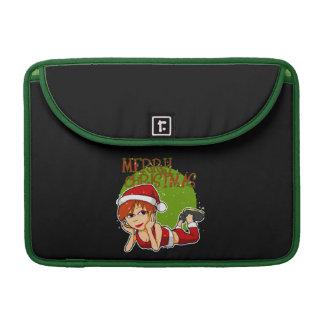 Señora Santa MacBook Sleeve Fundas Para Macbook Pro