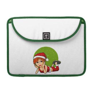 Señora Santa MacBook Sleeve Funda Para Macbook Pro
