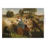 Señora Schuyler Burning Her Fields - Leutze (1852) Felicitaciones