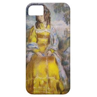 Señora Seated de Musatov- del vencedor, con una ta iPhone 5 Cárcasas