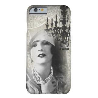 señora shabbychic Fashion de París del vintage de