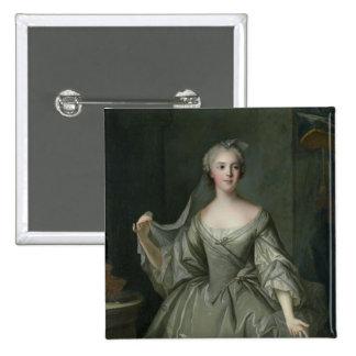Señora Sophie de Francia como Virgen de vestal Pin Cuadrado