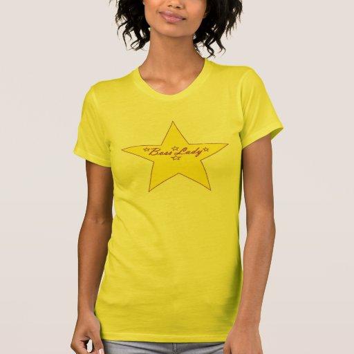 Señora Stars T-Shirt de Boss Remera