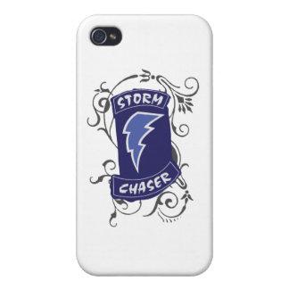 Señora Storm Chaser iPhone 4/4S Funda
