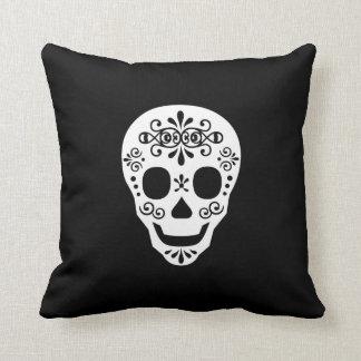 Señora Sugar Skull por las pimientas de Leslie Almohadas