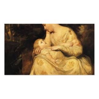Señora Susana Hoare y niño de Joshua Reynolds Tarjetas De Visita