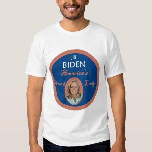 Señora T-Shirt de Biden segundo Playera