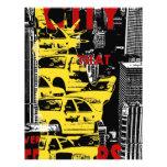 Señora Taxi de Nueva York Plantilla De Membrete