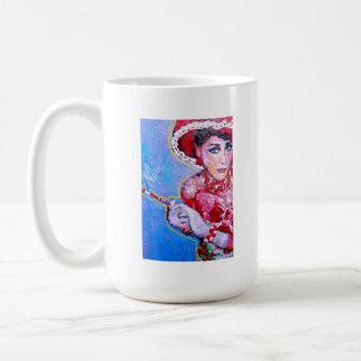 """Señora """" taza de la iglesia de Sybil """"."""