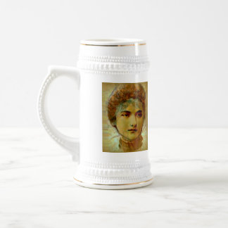 """Señora taza del arte del Victorian"""